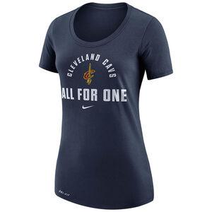 NBA Cleveland Cavaliers T-Shirt Damen, blau, zoom bei OUTFITTER Online