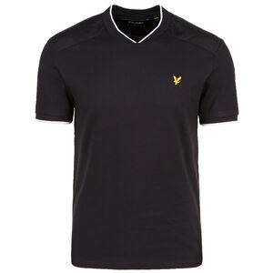 Nylon Panel T-Shirt Herren, schwarz, zoom bei OUTFITTER Online