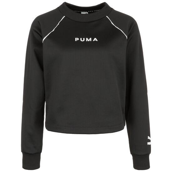 XTG Crew Sweatshirt Damen, schwarz / weiß, zoom bei OUTFITTER Online