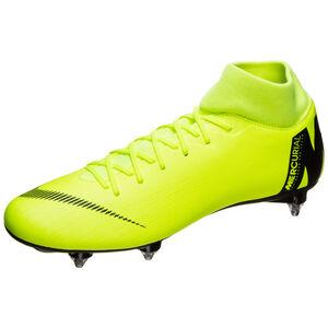 Mercurial Superfly VI Academy SG-Pro Fußballschuh Herren, gelb / schwarz, zoom bei OUTFITTER Online