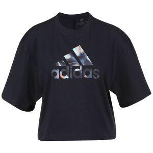 You For You Cropped Logo -Shirt Damen, dunkelblau, zoom bei OUTFITTER Online