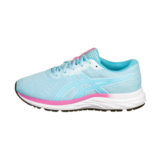Gel-Excite 7 GS Laufschuh Kinder, hellblau / rosa, zoom bei OUTFITTER Online
