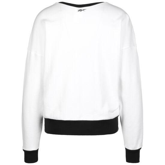 Workout Ready Big Logo Sweatshirt Damen, weiß / schwarz, zoom bei OUTFITTER Online