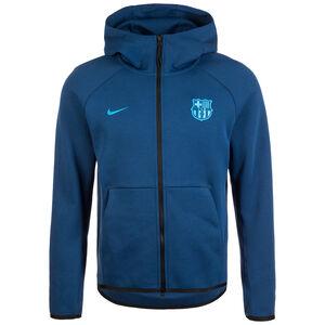 FC Barcelona Tech Fleece Kapuzenjacke Herren, blau, zoom bei OUTFITTER Online