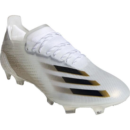 X Ghosted.1 FG Fußballschuh Herren, weiß / gold, zoom bei OUTFITTER Online
