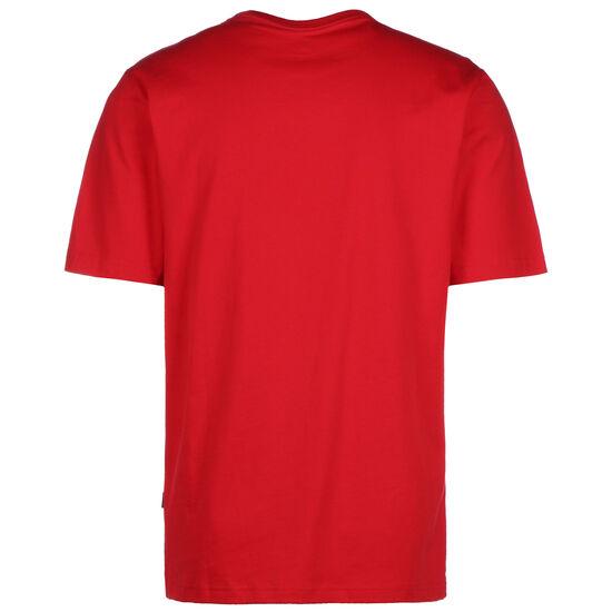 All Star T-Shirt Herren, rot / weiß, zoom bei OUTFITTER Online