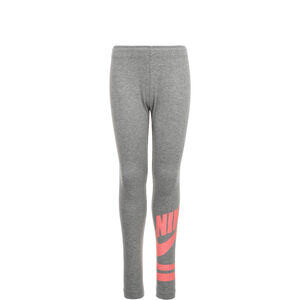 Favorite Graphic Leggings Kinder, grau / rosa, zoom bei OUTFITTER Online