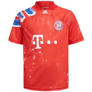 FC Bayern München Human Race FC Trikot Kinder, rot / blau, zoom bei OUTFITTER Online