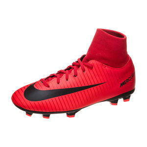Mercurial Victory VI DF FG Fußballschuh Kinder, Rot, zoom bei OUTFITTER Online