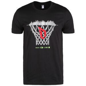 Dame Logo T-Shirt Herren, schwarz, zoom bei OUTFITTER Online
