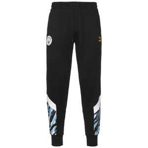 Manchester City Iconic MCS Graphic Trainingshose Herren, schwarz / blau, zoom bei OUTFITTER Online