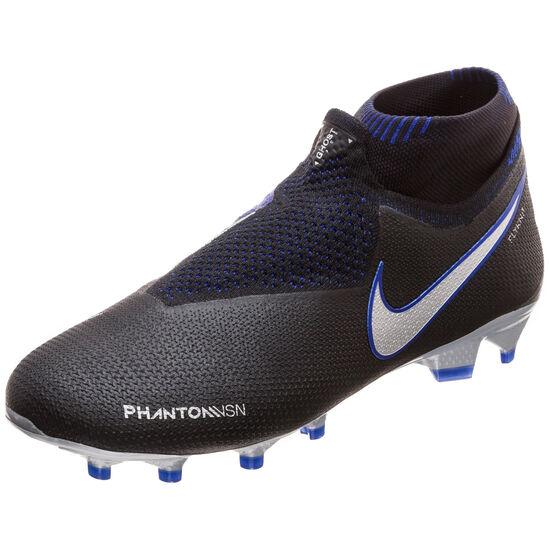 los angeles c5fdc ae9b0 ... Phantom Vision Elite DF FG Fußballschuh Herren, schwarz   silber, zoom  bei OUTFITTER Online ...