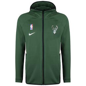 NBA Milwaukee Bucks Therma Flex Kapuzenjacke Herren, grün / weiß, zoom bei OUTFITTER Online