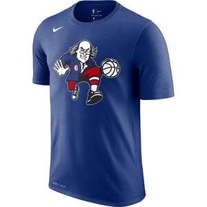 NBA Philadelphia 76ers T-Shirt Herren, blau, zoom bei OUTFITTER Online