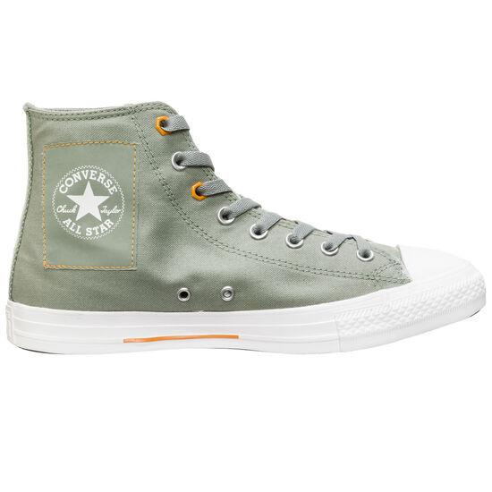 Chuck Taylor All Star High Sneaker Herren, oliv / orange, zoom bei OUTFITTER Online