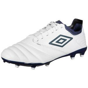 Tocco Premier FG Fußballschuh Herren, weiß / blau, zoom bei OUTFITTER Online