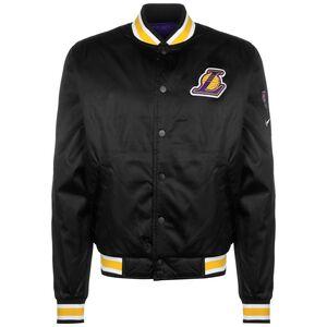 NBA Los Angeles Lakers Reversible Courtside Trainingsjacke Herren, schwarz / gelb, zoom bei OUTFITTER Online
