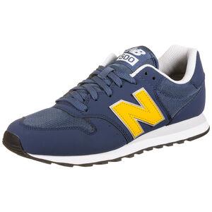 GW500-D Sneaker Herren, dunkelblau / gelb, zoom bei OUTFITTER Online