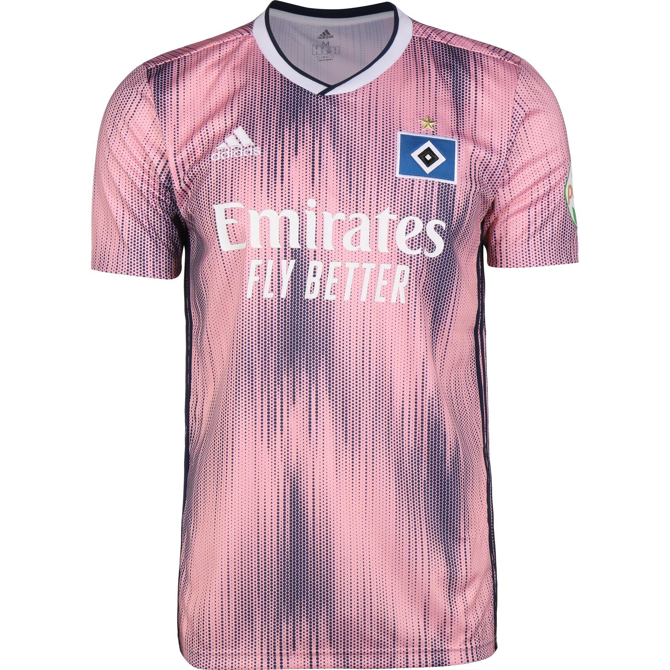 HSV DAMEN TRIKOT Gr. XS Hamburger SV Adidas blau weiß Shirt
