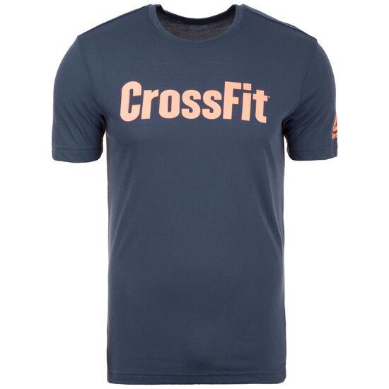 Speedwick CrossFit Trainingsshirt Herren, dunkelblau, zoom bei OUTFITTER Online