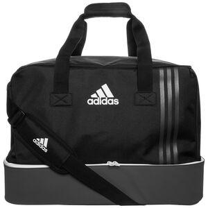 Tiro Teambag Bottom Compartment Large Fußballtasche, schwarz / grau, zoom bei OUTFITTER Online