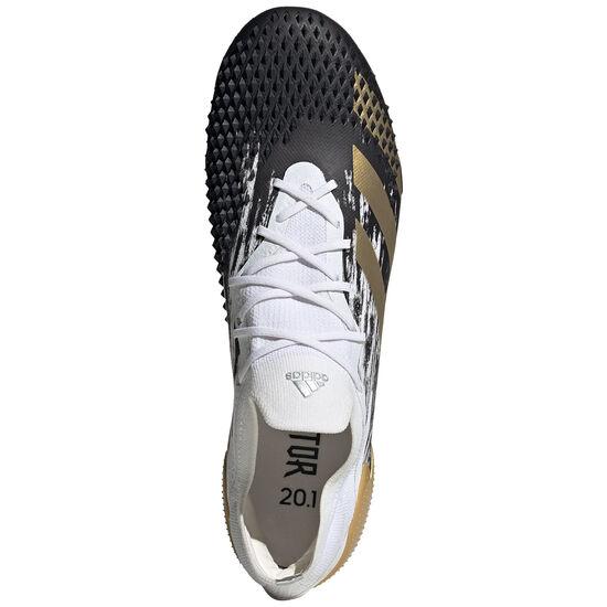 Predator 20.1 L SG Fußballschuh Herren, weiß / gold, zoom bei OUTFITTER Online
