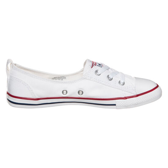 Chuck Taylor All Star Ballet Lace OX Sneaker Damen, Weiß, zoom bei OUTFITTER Online