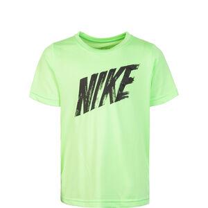 Dry Trainingsshirt Kinder, hellgrün / schwarz, zoom bei OUTFITTER Online