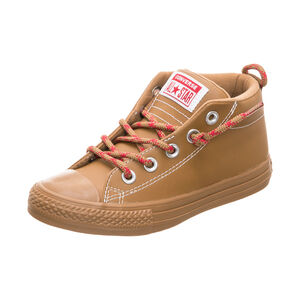 Chuck Taylor All Star Street Mid Sneaker Kinder, Braun, zoom bei OUTFITTER Online
