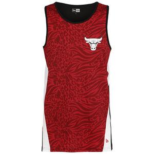 NBA All Over Print Chicago Bulls Tanktop Herren, rot / weiß, zoom bei OUTFITTER Online