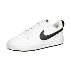 Court Borough Low 2 Sneaker Kinder, weiß / schwarz, zoom bei OUTFITTER Online