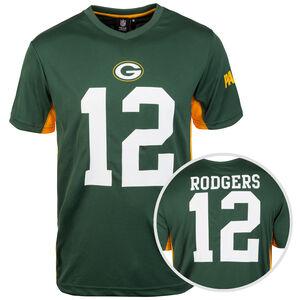NFL Green Bay Packers #12 Rodgers T-Shirt Herren, grün / weiß, zoom bei OUTFITTER Online