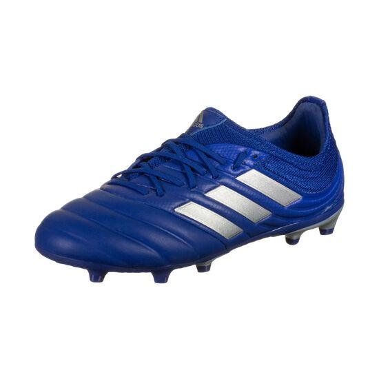 Copa 20.1 FG Fußballschuh Kinder, blau / silber, zoom bei OUTFITTER Online