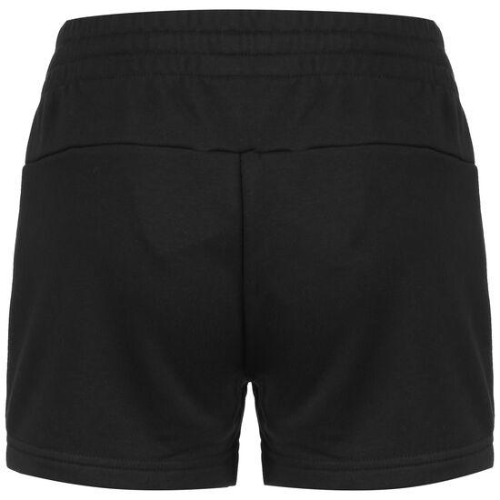 Essentials Linear Logo Short Damen, schwarz / weiß, zoom bei OUTFITTER Online