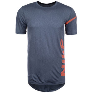 Breathe Trainingsshirt Herren, blau / rot, zoom bei OUTFITTER Online