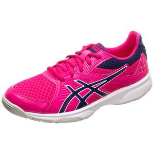 UPCOURT 3 Handballschuh Damen, pink / dunkelblau, zoom bei OUTFITTER Online