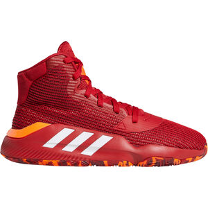 Pro Bounce 2019 Basketballschuh Herren, rot / orange, zoom bei OUTFITTER Online