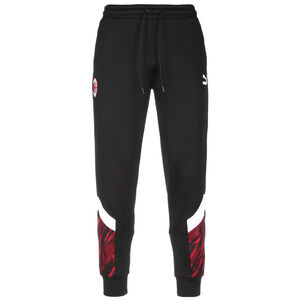 AC Mailand Iconic MCS Graphic Trainingshose Herren, schwarz / rot, zoom bei OUTFITTER Online