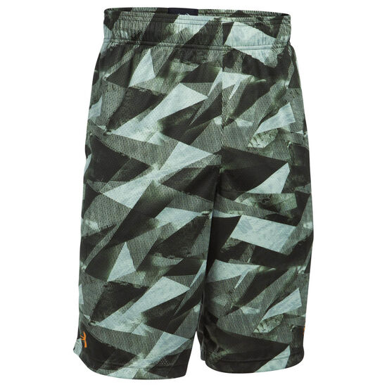 SC30 Aero Wave Basketballshort Herren, grün / grau, zoom bei OUTFITTER Online