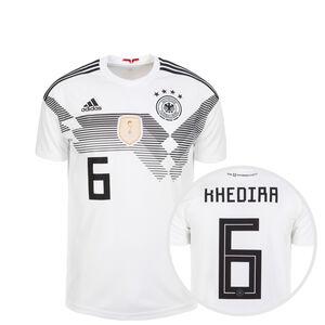 DFB Trikot Home Khedira WM 2018 Kinder, Weiß, zoom bei OUTFITTER Online