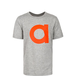 Essentials Brand T-Shirt Kinder, grau / rot, zoom bei OUTFITTER Online