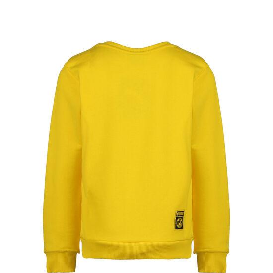 Borussia Dortmund ftblCore Graphic Crew Sweatshirt Kinder, gelb / schwarz, zoom bei OUTFITTER Online