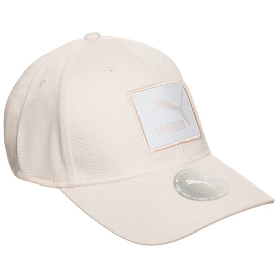 Archive Logo Label Strapback Cap, rosa, zoom bei OUTFITTER Online
