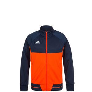 Tiro 17 Trainingsjacke Kinder, dunkelblau / orange, zoom bei OUTFITTER Online