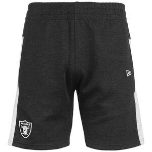 NFL Oakland Raiders Contrast Detail Short Herren, anthrazit / weiß, zoom bei OUTFITTER Online