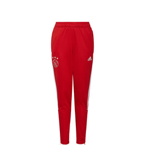 Ajax Amsterdam Trainingshose Kinder, rot / weiß, zoom bei OUTFITTER Online