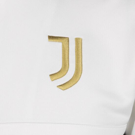 Juventus Turin 3-Streifen Trainingsjacke Herren, weiß / schwarz, zoom bei OUTFITTER Online