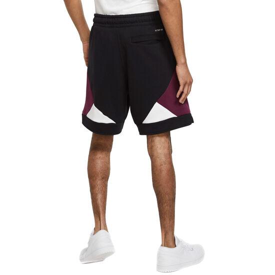 Paris St.-Germain Shorts Herren, schwarz / bordeaux, zoom bei OUTFITTER Online