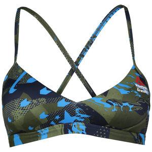 CrossFit Micro Sport-BH Damen, bunt / hellblau, zoom bei OUTFITTER Online