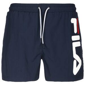 Michi Beach Shorts Herren, dunkelblau / weiß, zoom bei OUTFITTER Online
